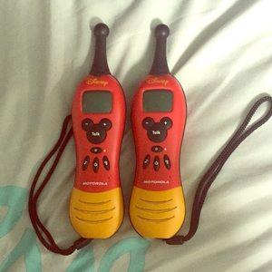 2 Disney Mickey 2-Way Radios